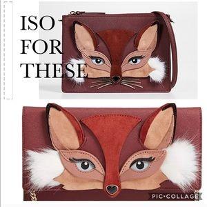 Kate spade foxy handbag